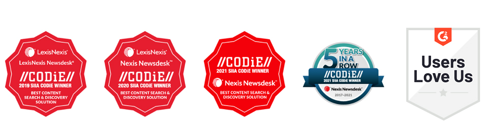 Codie Awards banners