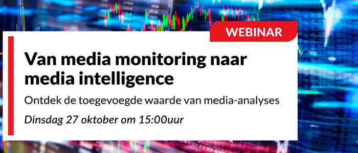 Van media monitoring naar media intelligence